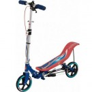 Space Scooter Rood Blauw